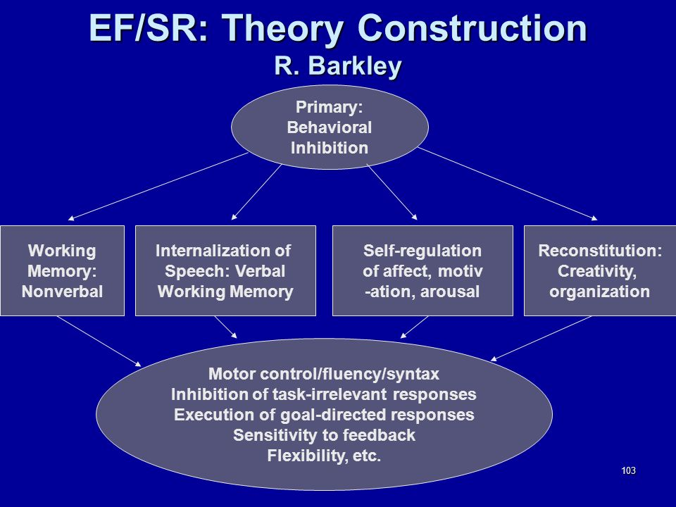 103 EF/SR: Theory Construction R.