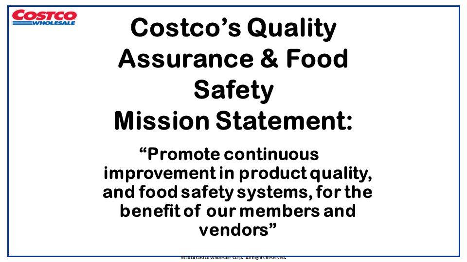 costco mission statement