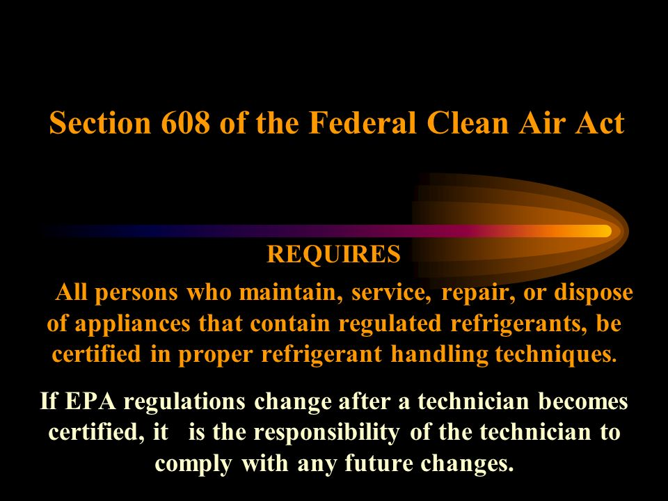 an introduction to the federal clean air standards The federal water pollution control act, but the act was significantly reorganized and expanded in 1972 clean water act became the act's common name with amendments in 1977.