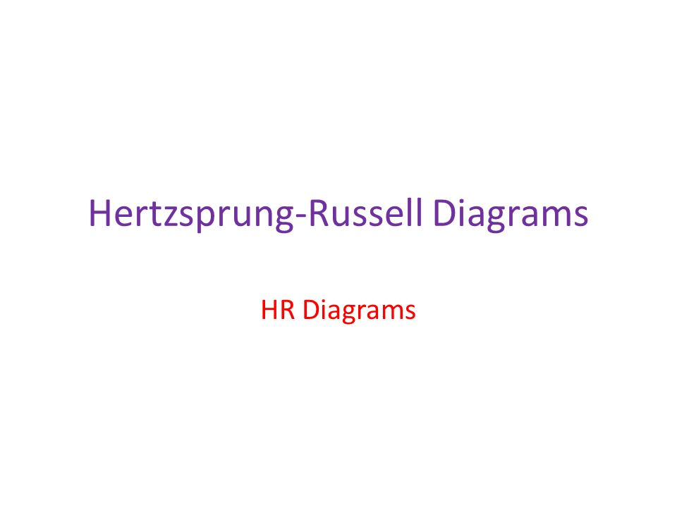Astronomy Hr Diagrams Eq How Does The Hr Diagram Show Different