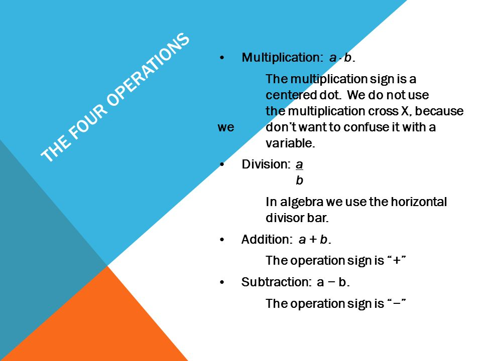 EXPRESSIONS & EXPONENTS COORDINATE ALGEBRA. WHY DO WE USE VARIABLES ...