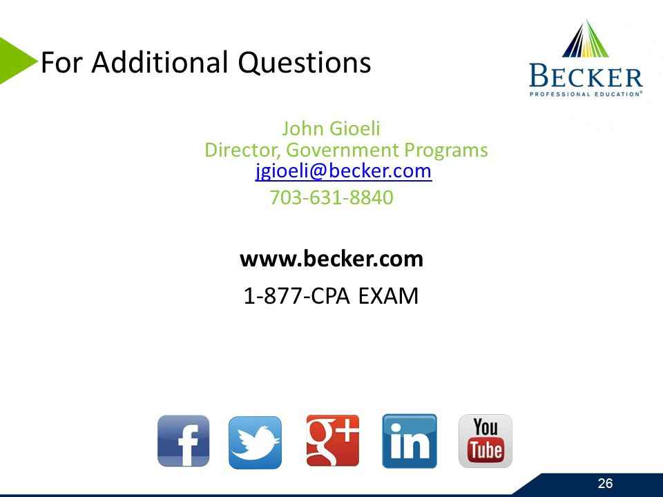 Maintaining your CPA, CGFM and Other Certifications John