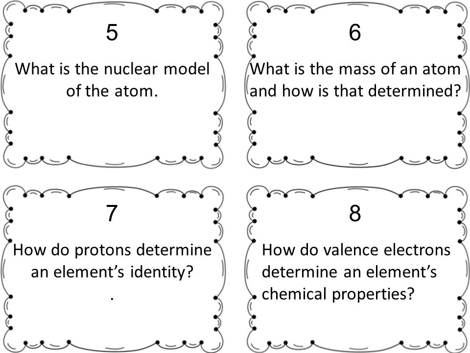 what is the nuclear model of the atom 5 what is the mass of an