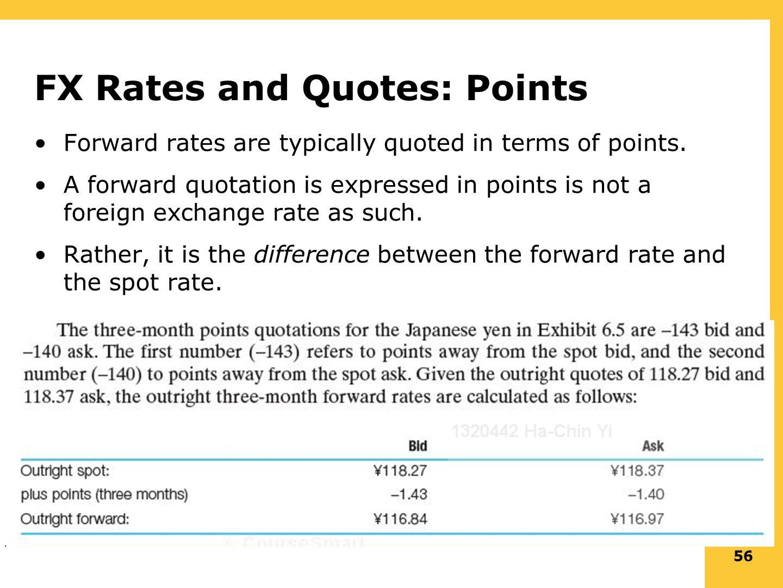 56 Fx Rates