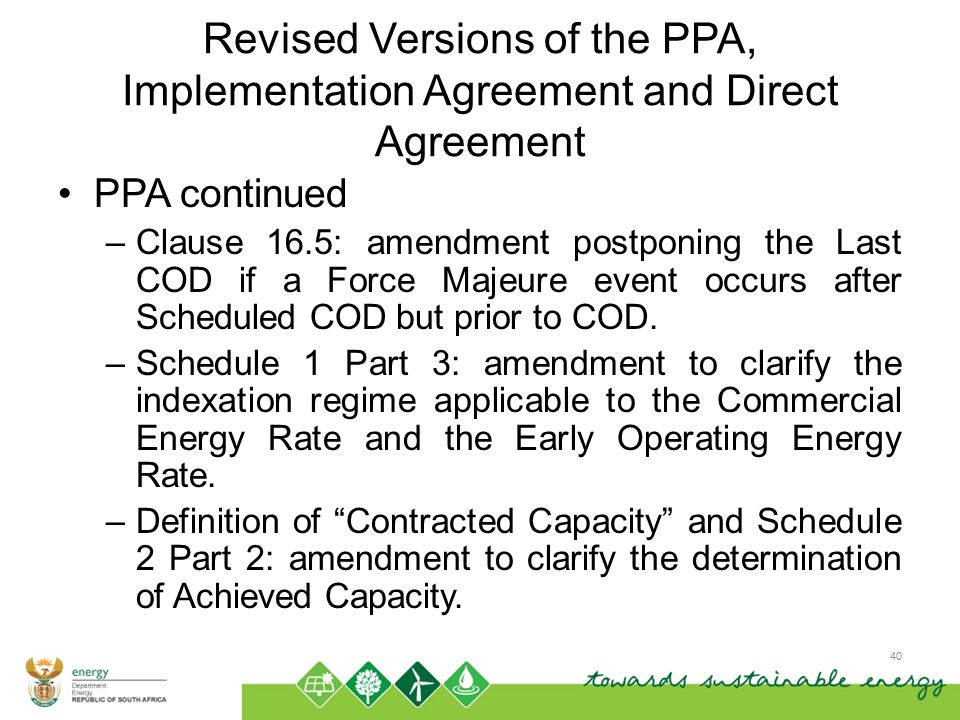 Background Information On The Re Ipp Programme And The Rfp Ppt