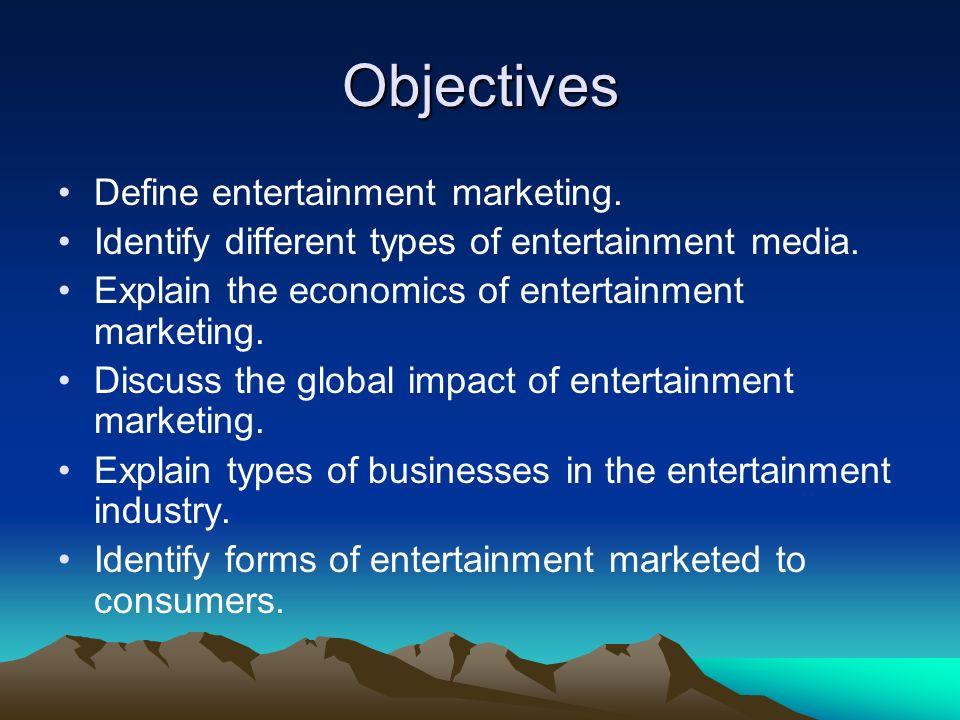 types of entertainment media