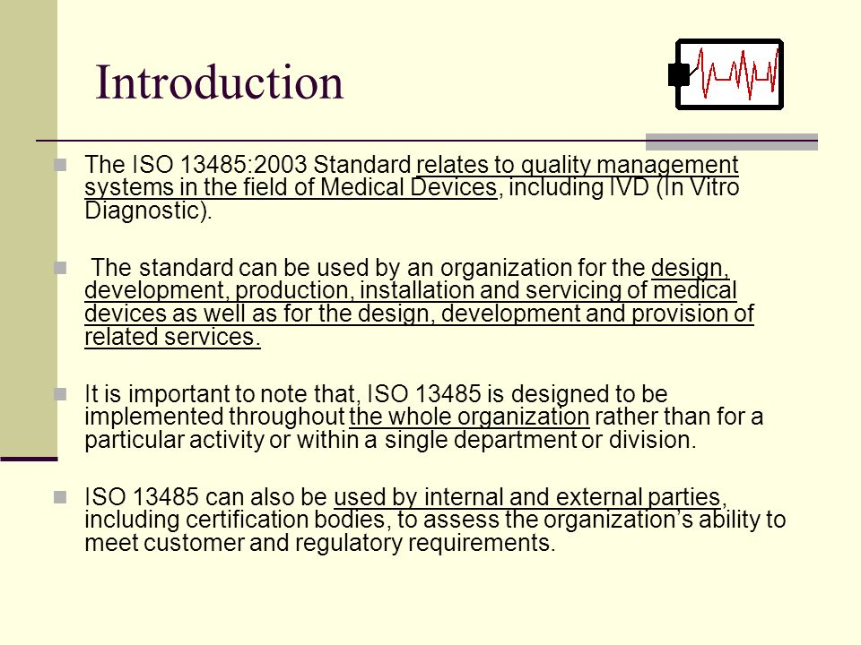 Iso As An Integrator Of Unified Quality Management System Of Medical