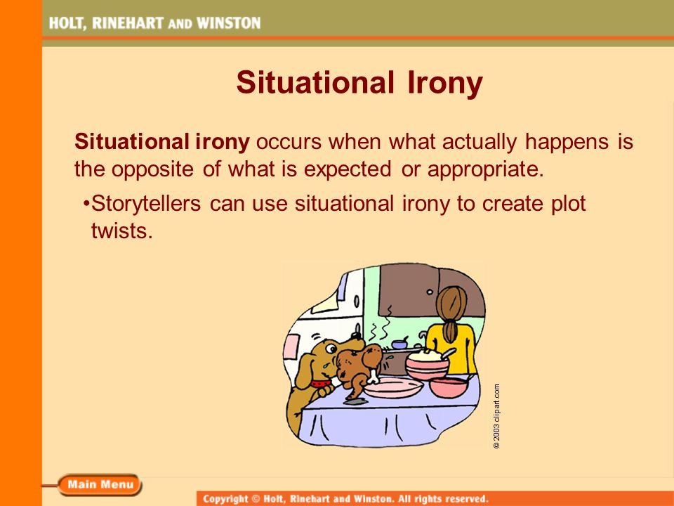 whats situational irony
