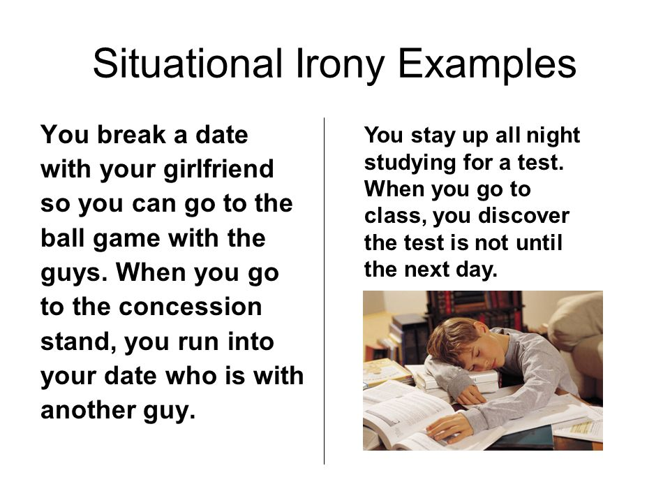 situational irony definition and examples