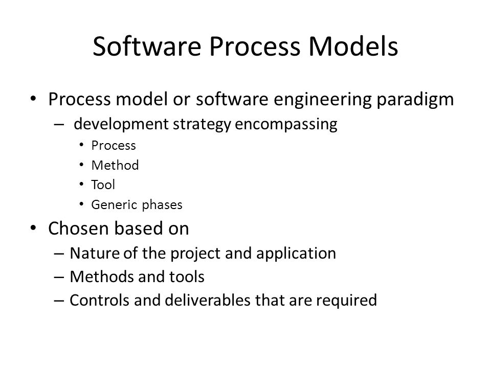 linear sequential model in software engineering