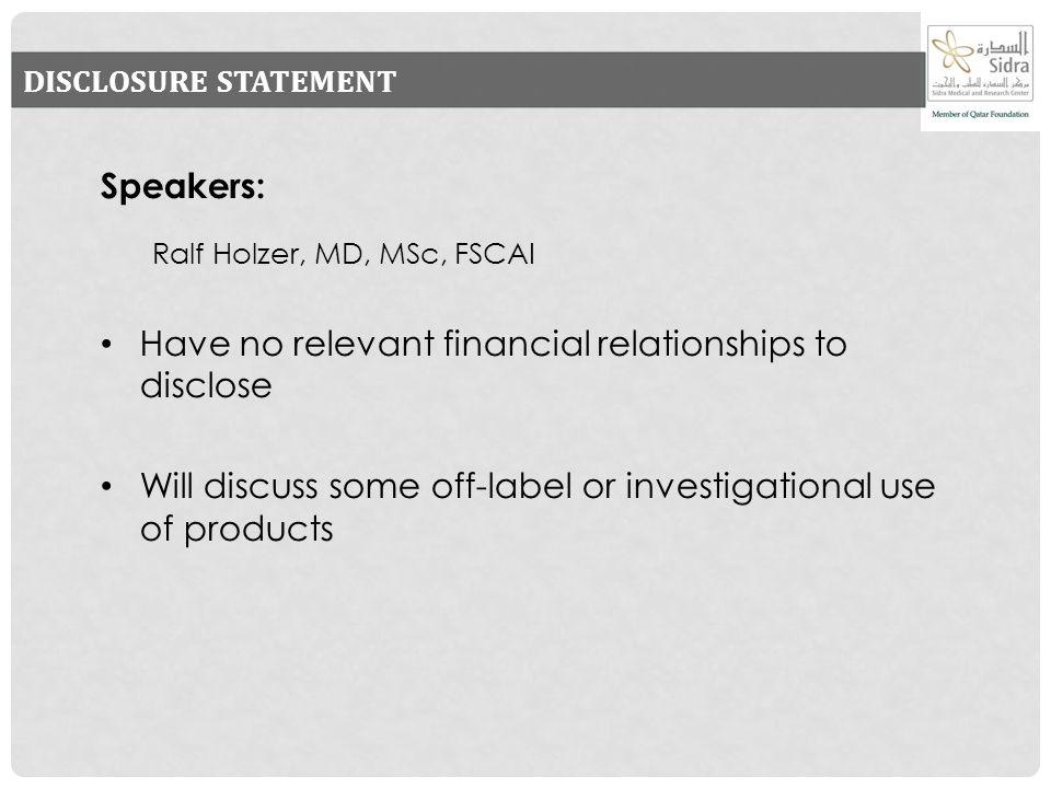 RALF HOLZER MD MSC FSCAI PROFESSOR OF CLINICAL PEDIATRICS