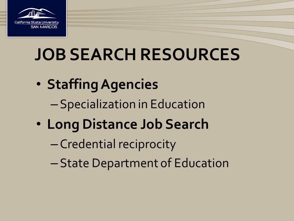 New Teacher Career Forum 2015 JOB SEARCH SUCCESS FOR
