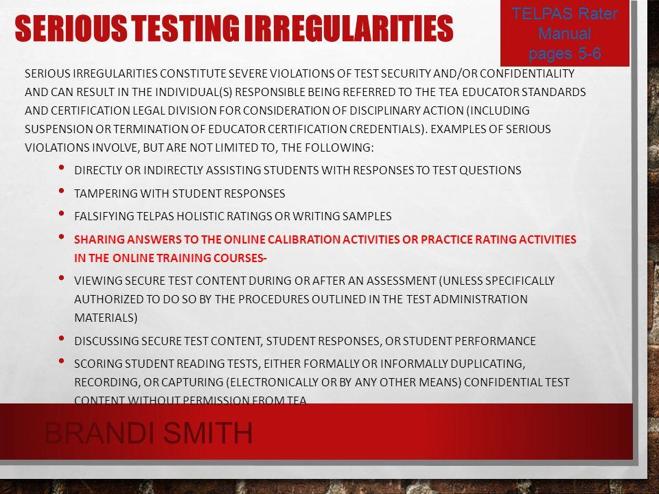 TELPAS TRAINING PART 1 THE ENGLISH LANGUAGE PROFICIENCY SYSTEM ...