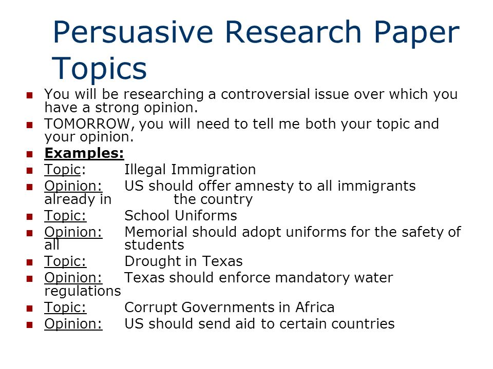 controversial issue topics