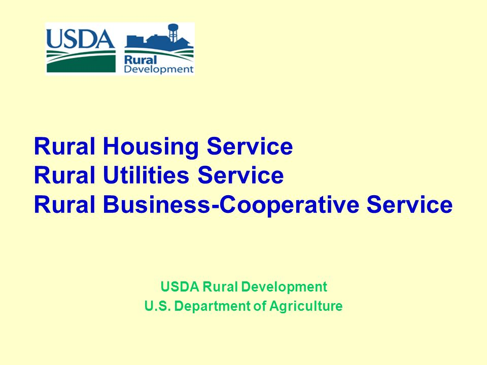 Superb 1 Rural Housing Service Rural Utilities Service Rural Business Cooperative Service  USDA ... Photo Gallery
