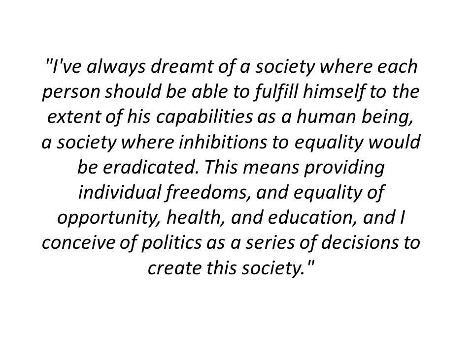 what does a just society mean