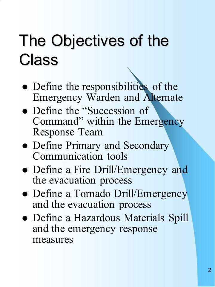 Spill response training presentation