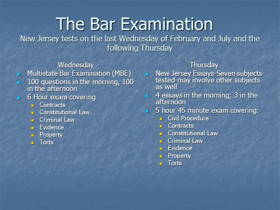 new jersey attorney admission