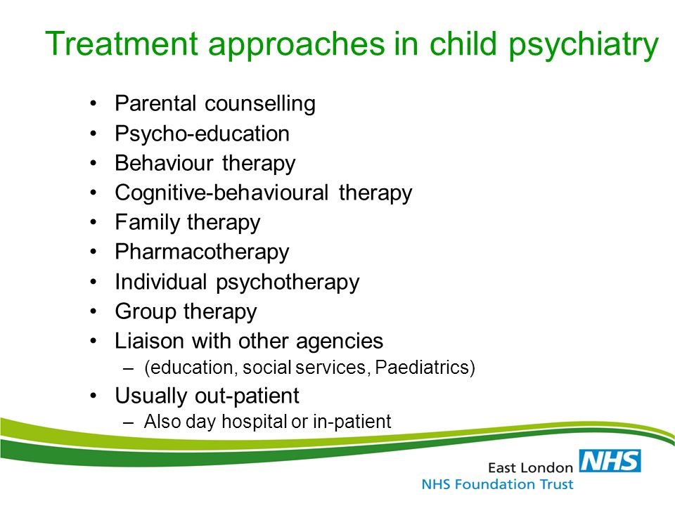 ELFT Training Packages for Primary Care 'Common Childhood Mental