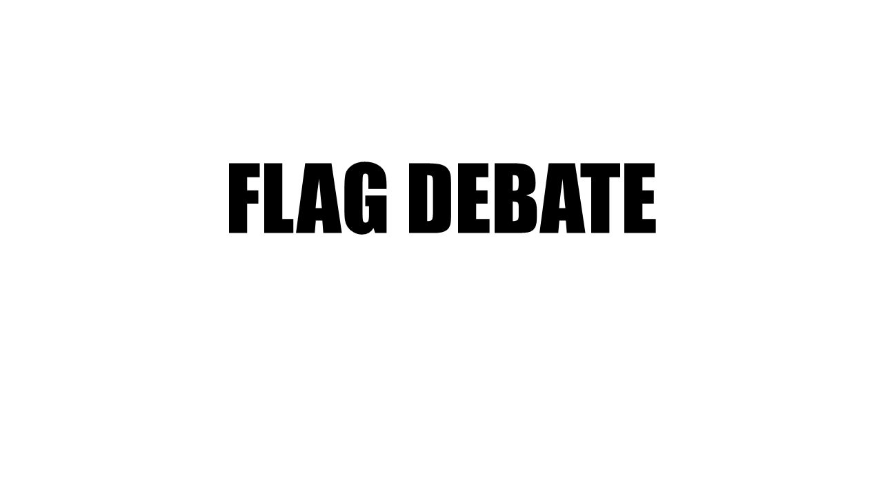 the canadian flag debate