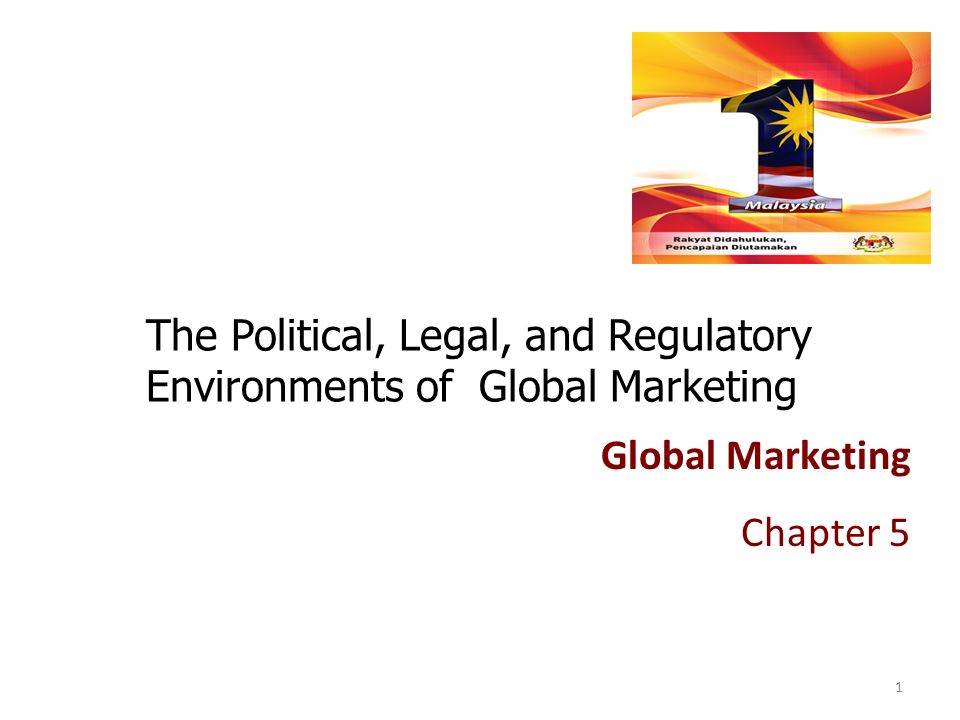 political legal environment