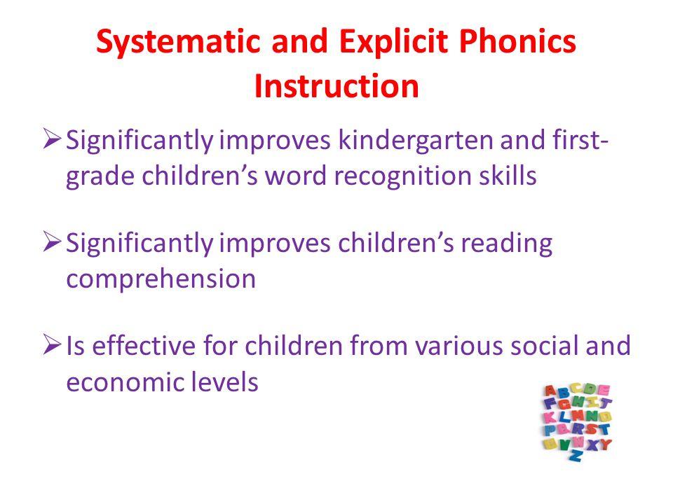 Phonics And Word Study Literary Links Phonics Instruction Teaches