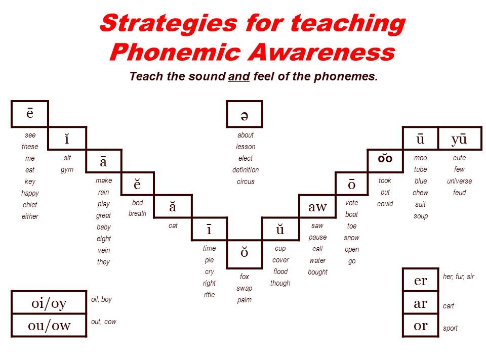 1 Phonological Awareness Do You Recognize These Students Late