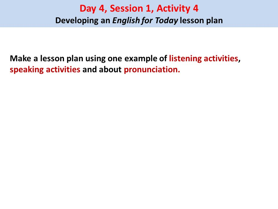 Welcome to Subject Based Training on English Day ppt download