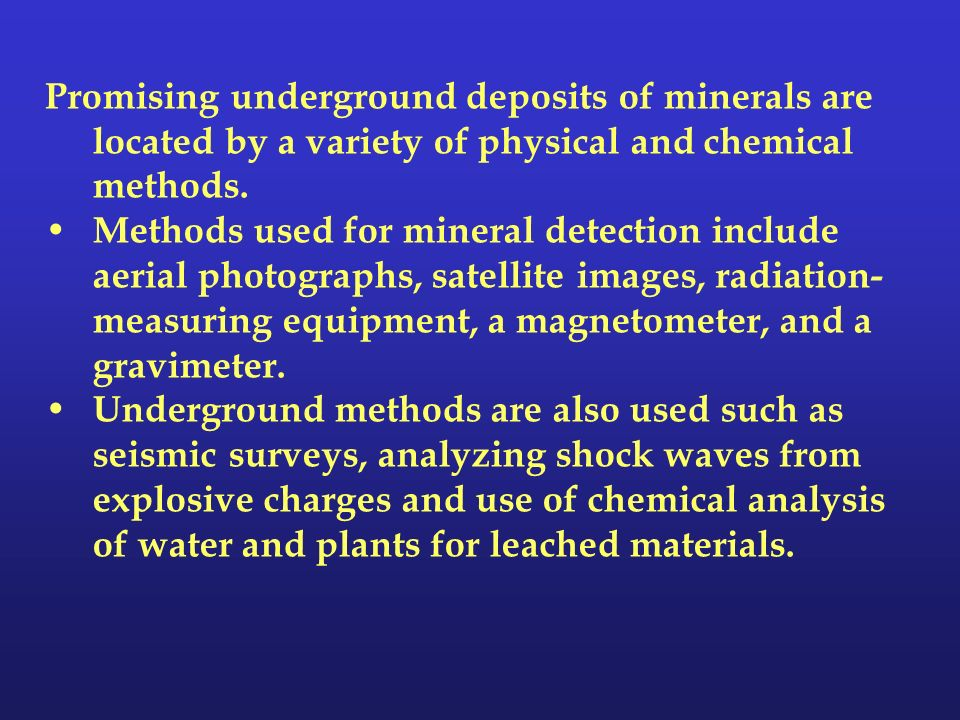 Geology and Nonrenewable Mineral Resources Chapter ppt download