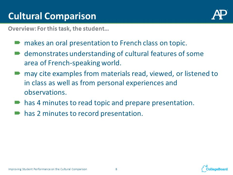 cultural observations examples