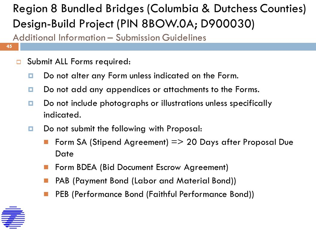 New York State Department Of Transportation Region 8 Bundled Bridges