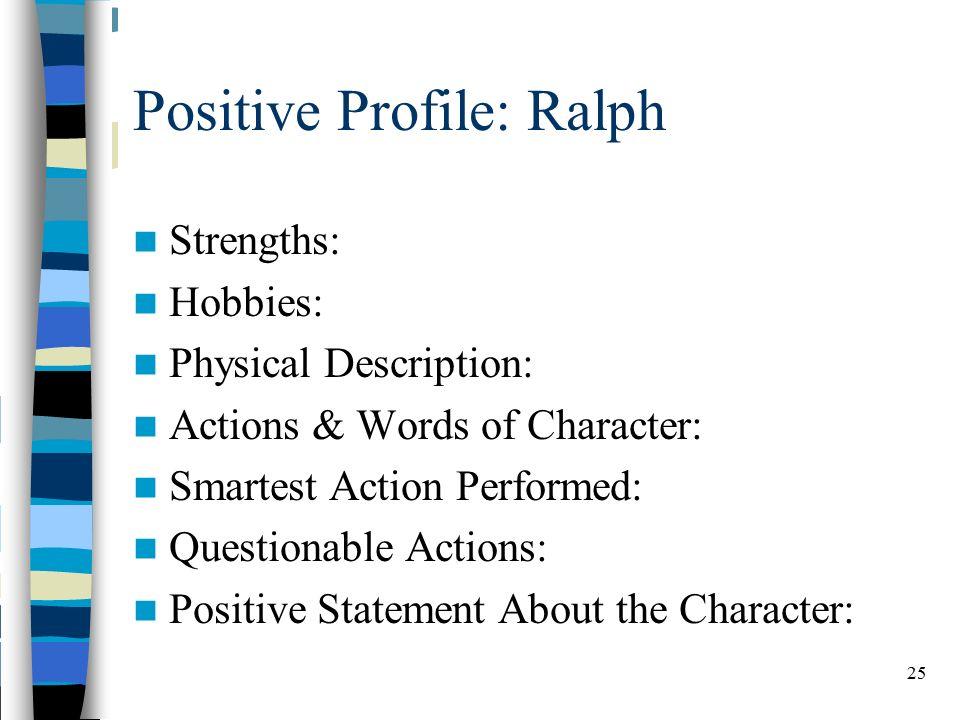 ralph physical description