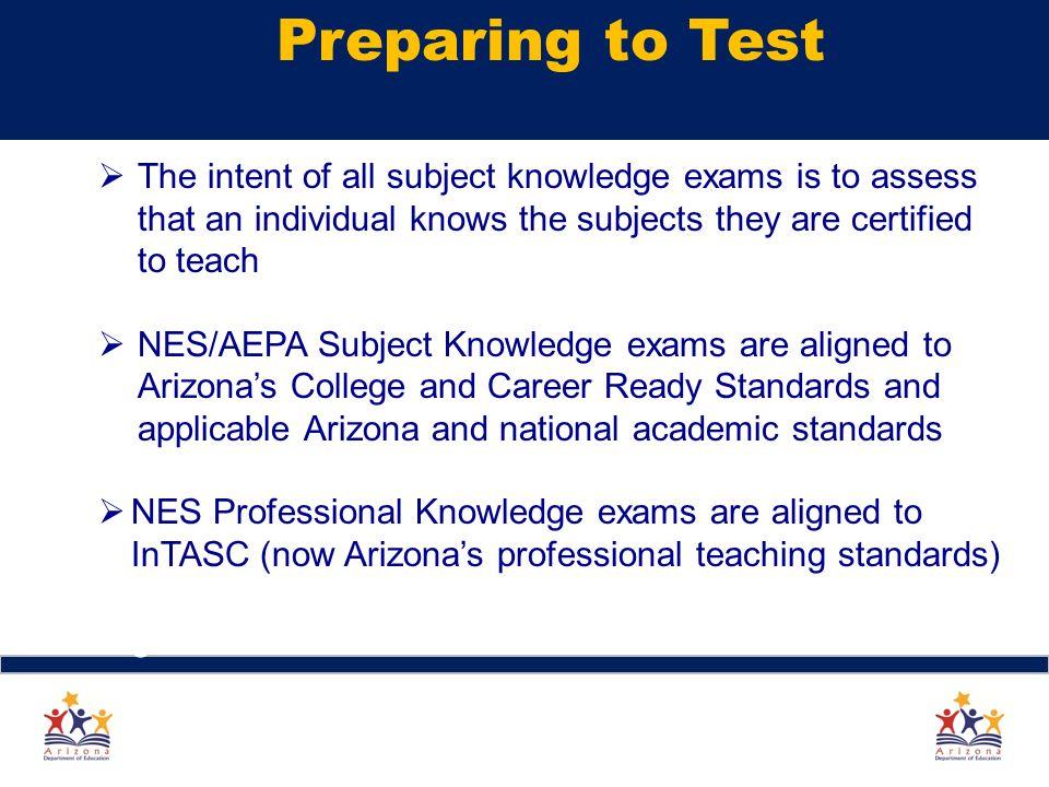 Arizona Educator Exams Update Arizona Educator Exams What You Need