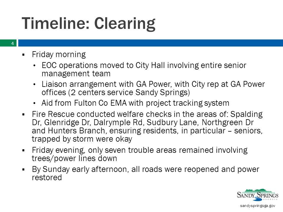Storm Recap Update June 18, sandyspringsga gov Timeline