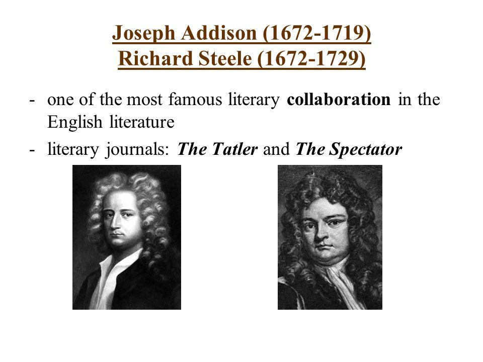 richard steele prose style