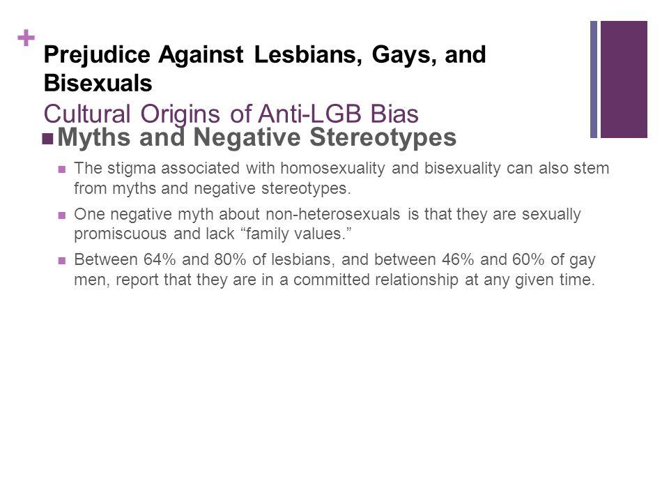 Non-heterosexual bias
