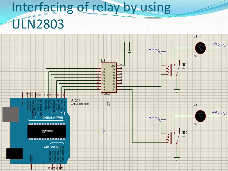 Prepared By: H.D.Shukla. ULN2803 Each of the digital i/o pins on the on max232 schematic, lm317 schematic, relay driver circuit schematic, abb robot schematic,