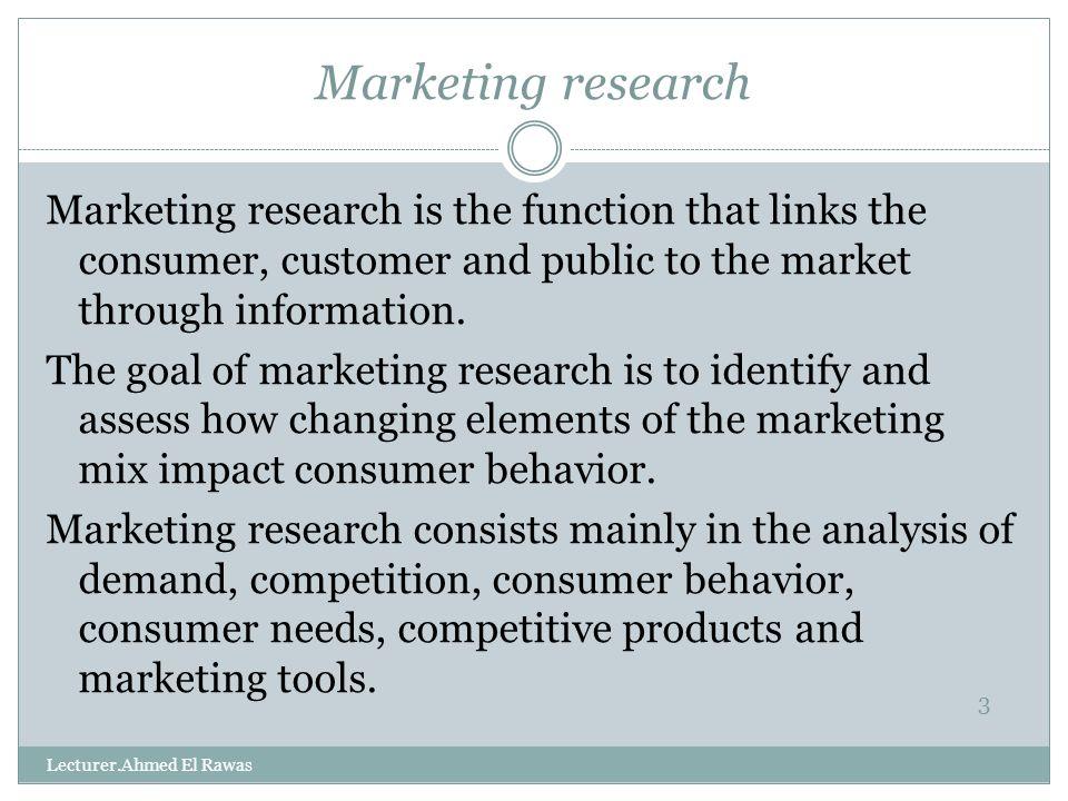 marketing feasibility study