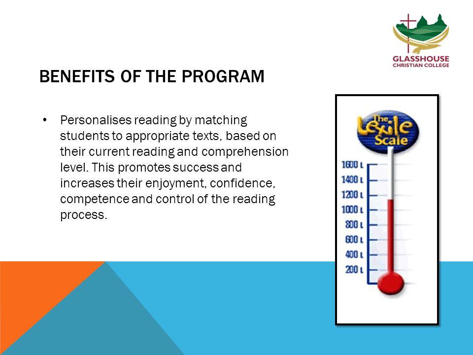 LITERACY PRO READING PROGRAM The Literacy Pro program is a ...
