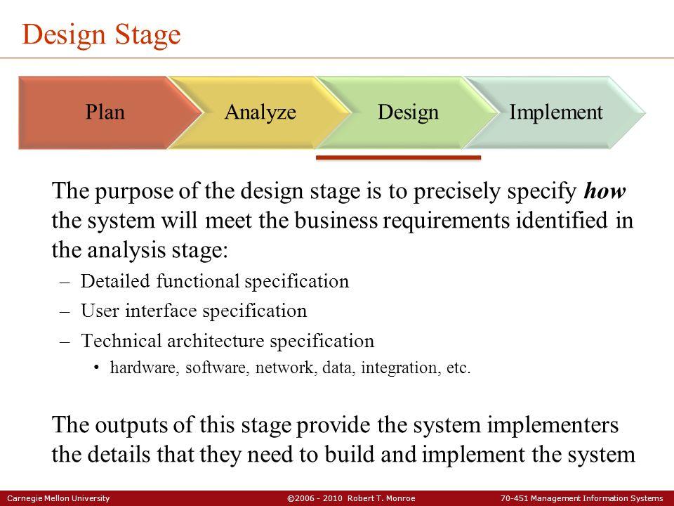 Carnegie Mellon University C Robert T Monroe Management Information Systems Models For Acquiring Is Capabilties Part Management Ppt Download
