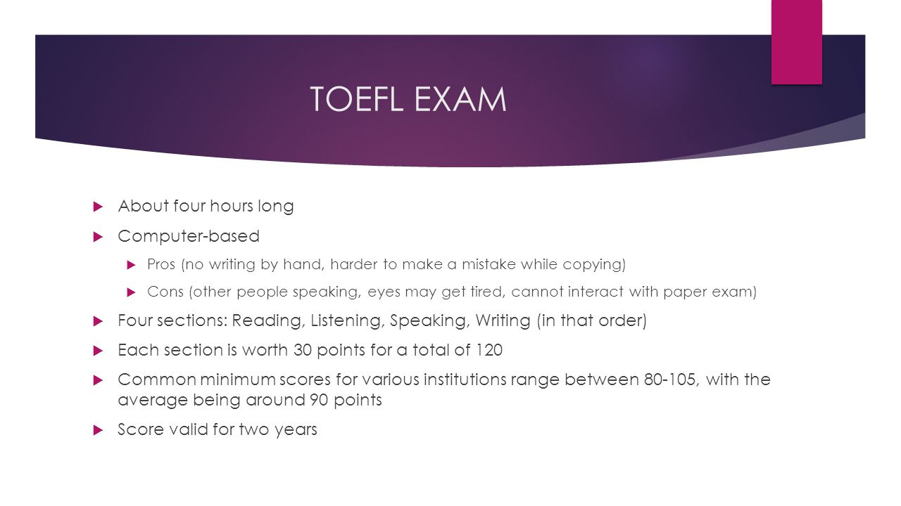 TOEFL vs  IELTS OVERVIEW AND TIPS AND TRICKS FOR SUCCESS  - ppt download