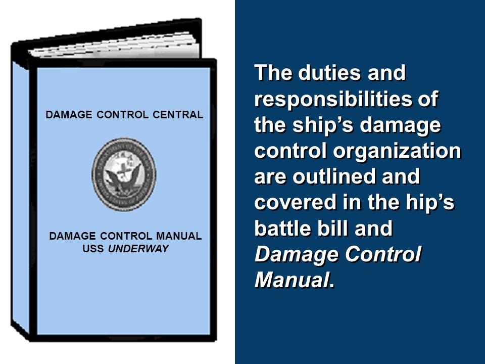 chapter 2 damage control and firefighting chapter 2 damage control rh slideplayer com Navy Damage Controlman US Navy Damage Control Art