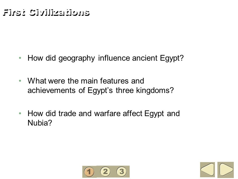 Chapter 2 First Civilizations Africa And Asia 3200 B C