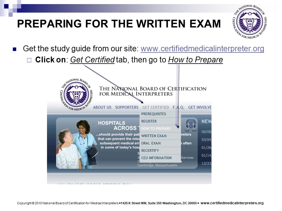 copyright 2010 national board of certification for medical rh slideplayer com Genetics Study Guide Chemistry Study Guide