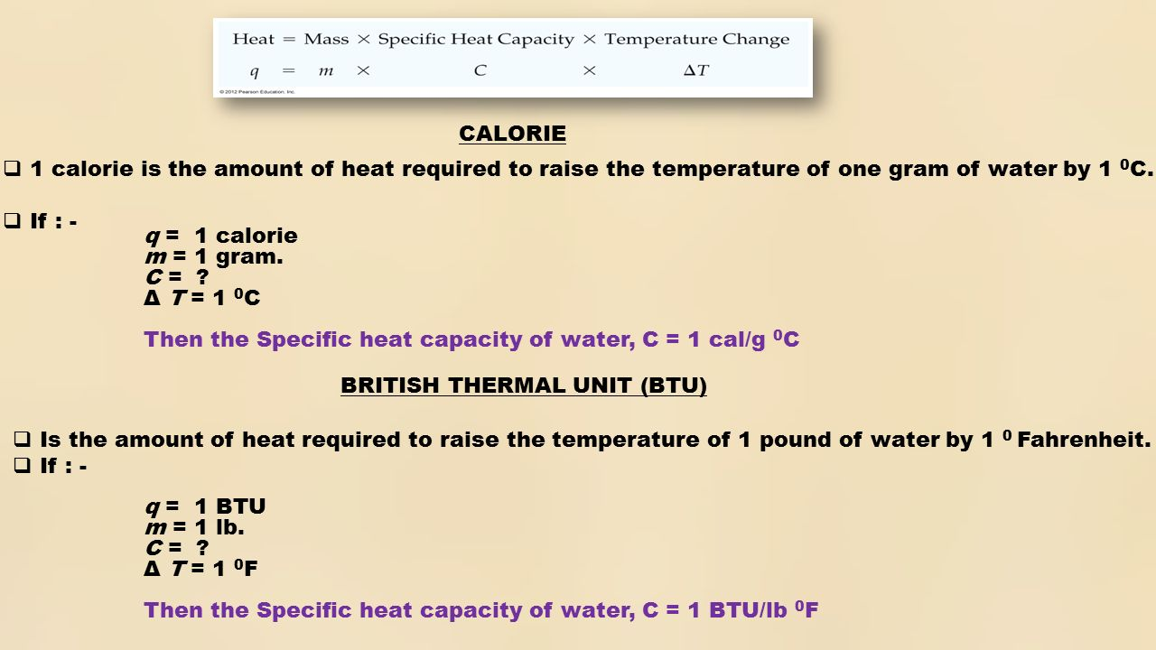 Specific heat capacity: why it is needed and what is its meaning 37