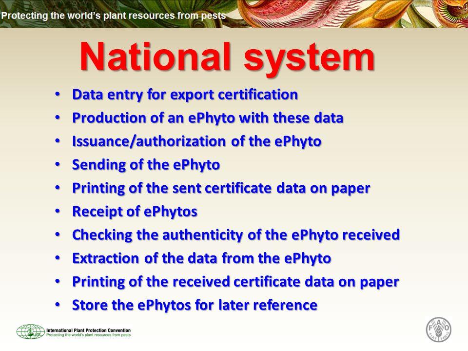 The International Plant Protection Convention Ippc Secretariat