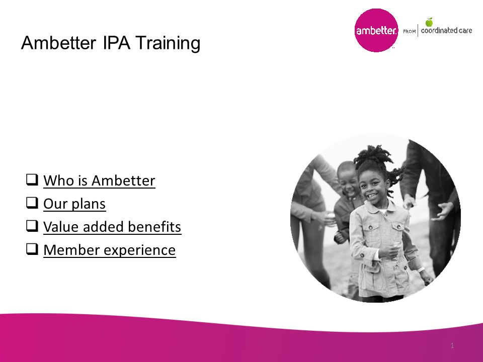Ambetter Ipa Training Who Is Ambetter Our Plans Value Added