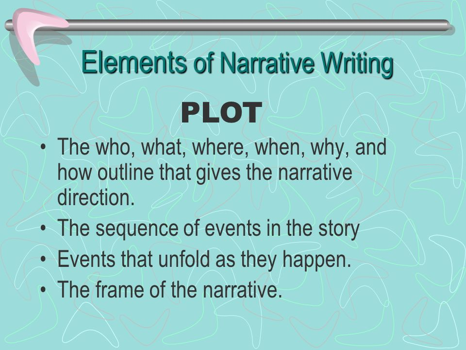 Theme and narrative elements