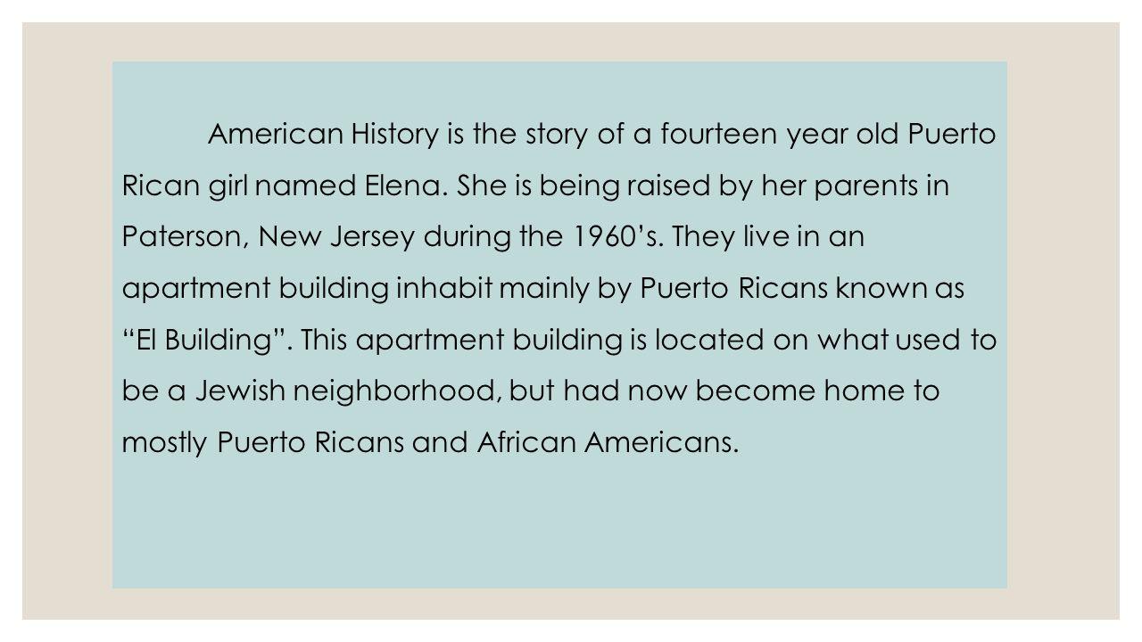 judith ortiz cofer american history
