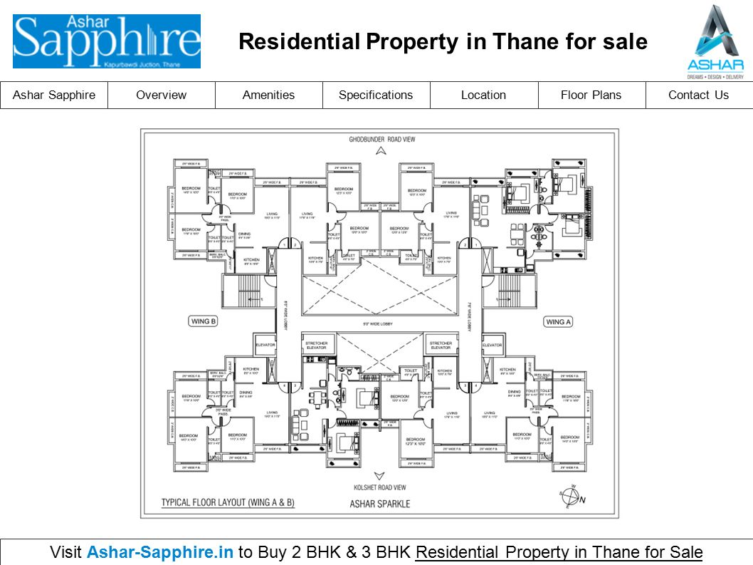 Ashar Sapphireoverviewlocationfloor Plansamenitiesspecificationscontact Us Visit Ashar Sapphire In To Buy 2 Bhk 3 Bhk Residential Property In Thane For Ppt Download